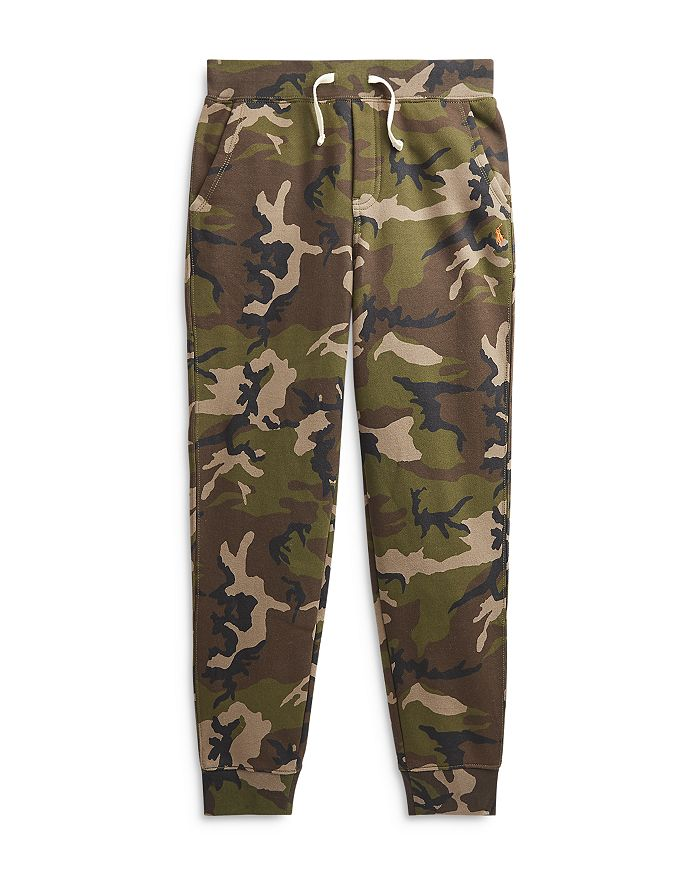 Ralph Lauren - Boys' Camo Jogger Sweatpants - Little Kid, Big Kid