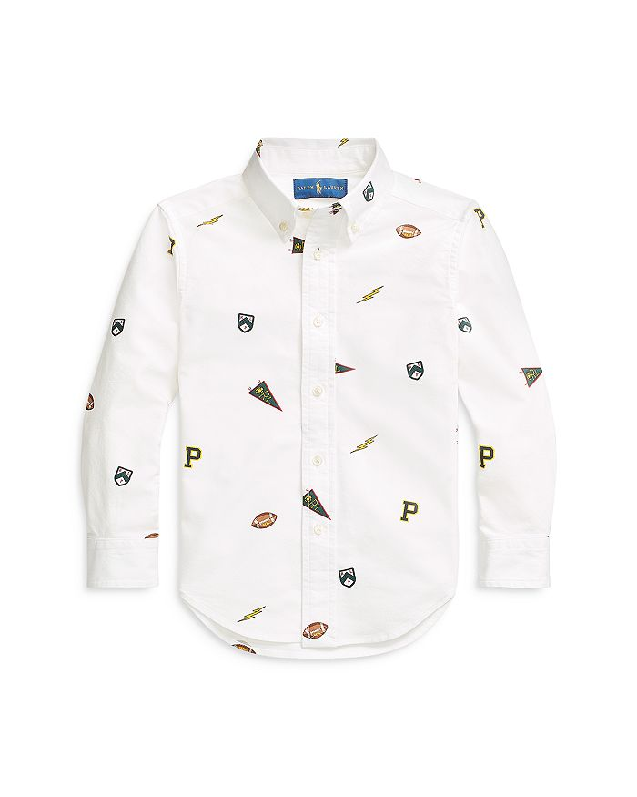 Ralph Lauren - Boys' Printed Button Down Shirt - Little Kid, Big Kid