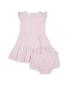 Ralph Lauren - Girls' Striped Ruffle Dress & Bloomers - Baby