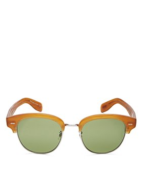 Oliver Peoples - Unisex Cary Grant Square Sunglasses, 52mm