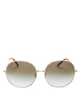 Oliver Peoples - Women's Darlen Oversized Round Sunglasses, 64mm