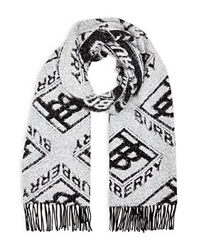 Burberry - Metallic Logo Monogram Scarf