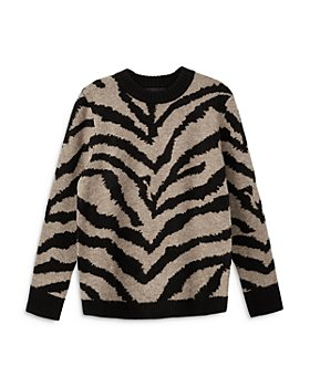 Karen Kane - Animal Jacquard Sweater