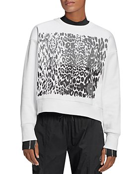 adidas by Stella McCartney - Graphic Cropped Sweatshirt