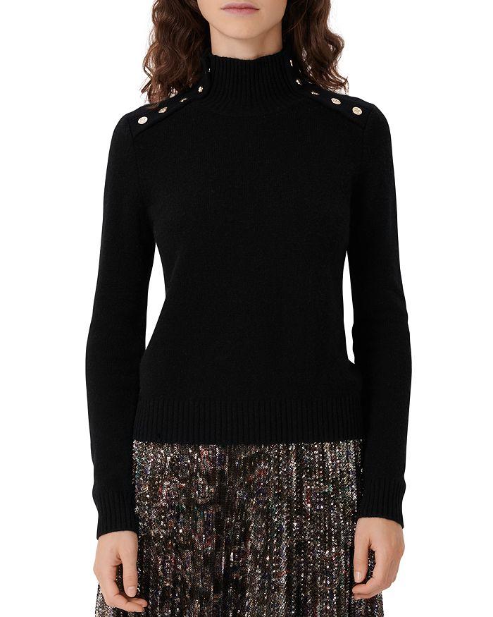 Maje - Monty Cashmere Turtleneck Sweater