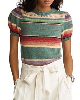 Ralph Lauren - Striped Short Sleeve Sweater