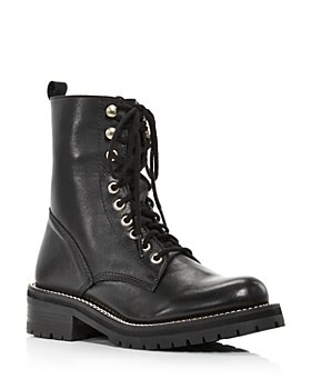 AQUA - Women's Jes Lace Up Boots - 100% Exclusive