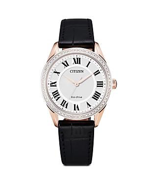 Eco Drive Arezzo Diamond Watch