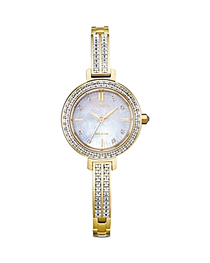 Citizen Eco Drive Silhouette Crystal Watch, 25mm