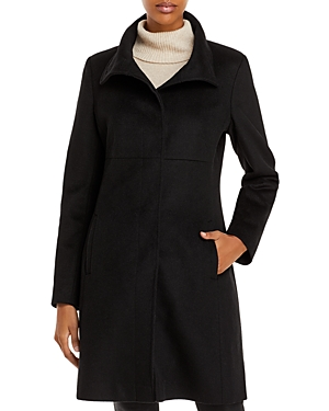 Via Spiga Mid Length A Line Coat-Women