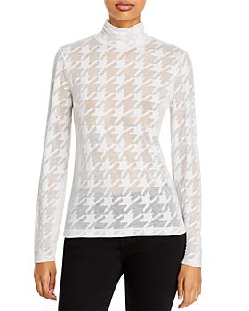 rag & bone - Valencia Houndstooth Turtleneck