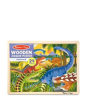 Melissa & Doug - 24 Pc. Dinosaur Jigsaw Puzzle - Ages 3+