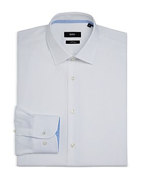 BOSS - Men's Jesse Cotton Solid Slim Fit Dress Shirt