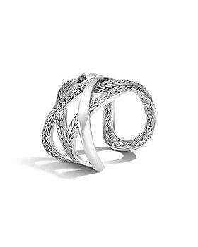 JOHN HARDY - Sterling Silver Classic Openwork Chain Cuff Bracelet