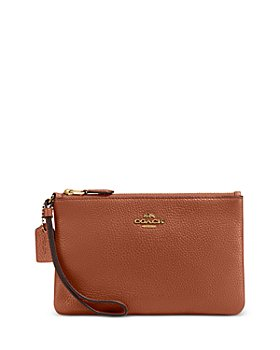 COACH - Boxed Small Leather Wristlet