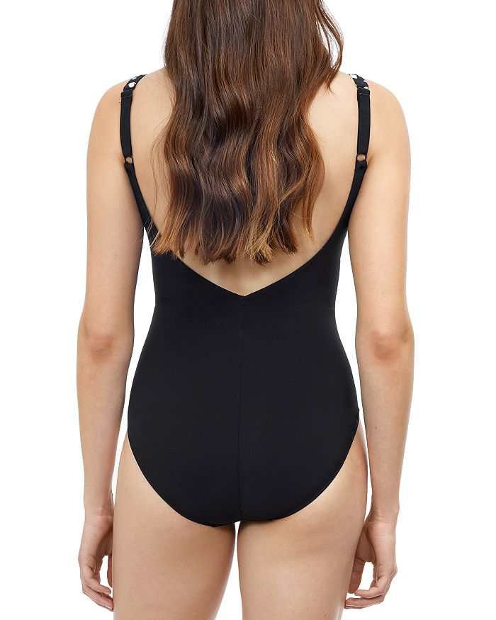 PROFILE BY GOTTEX One-pieces PROFILE BY GOTTEX V NECK ONE PIECE SWIMSUIT