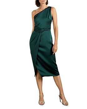 Ted Baker - Zaaraa One Shoulder Fold Detail Dress