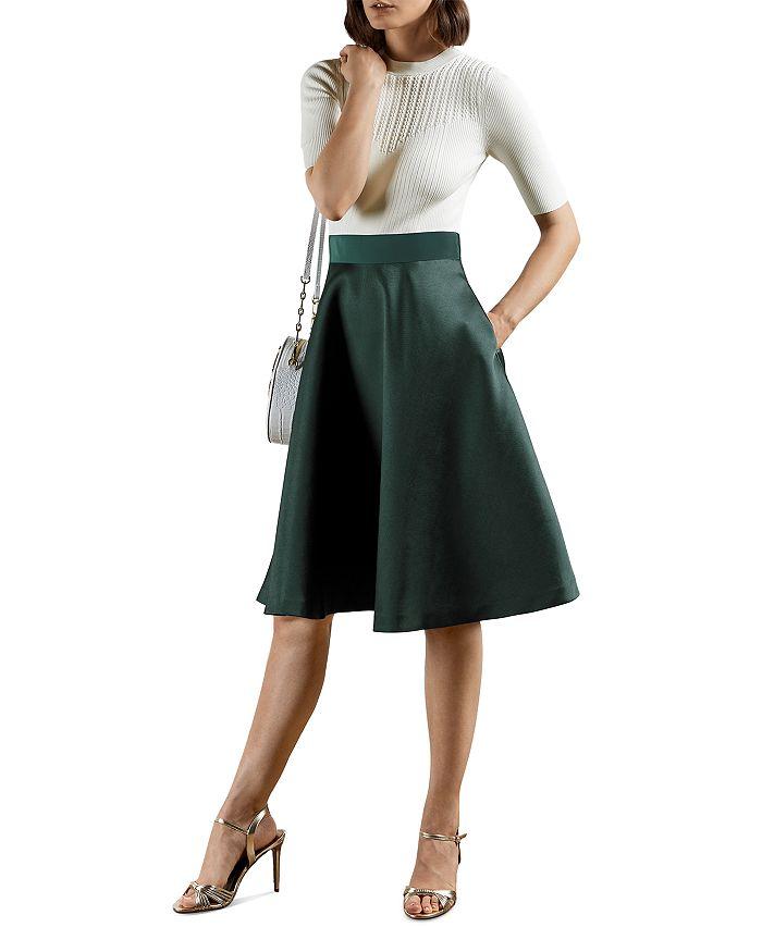 Ted Baker - Betsiyy Stitch Detail Full Skirted Dress