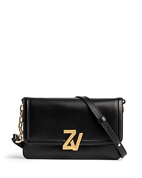 Zadig & Voltaire - ZV Initiale Leather Clutch