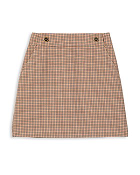 Tory Burch - Plaid Mini Skirt