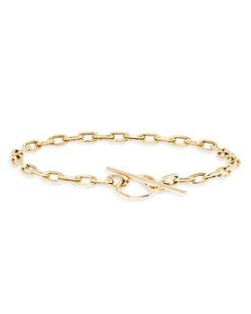 Zoë Chicco - 14k Yellow Gold Square Link Toggle Bracelet
