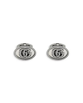 Gucci - Sterling Silver Marmont Double G Cufflinks