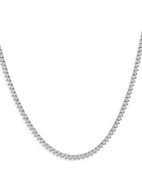 "Bloomingdale's - Diamond Opera Length Tennis Necklace in 14K White Gold, 20.0 ct. t.w, 32"" - 100% Exclusive"