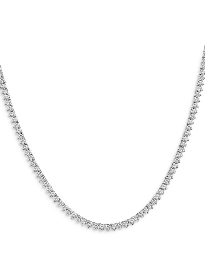 "Bloomingdale's Bloomingdale's Diamond Opera Length Tennis Necklace in 14K White Gold, 20.0 ct. t.w, 32"" - 100% Exclusive  | Bloomingdale's"