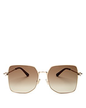 Jimmy Choo - Women's Trisha Oversize Square Sunglasses, 58mm