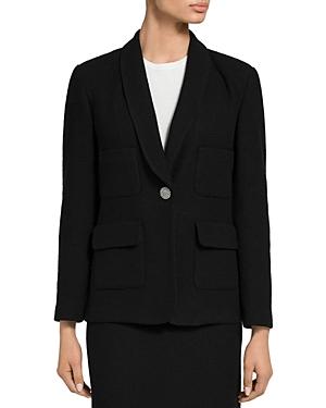 St. John Knit Shawl Collar Jacket