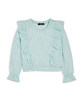 AQUA - Girls' Ruffle Sweatshirt, Big Kid - 100% Exclusive