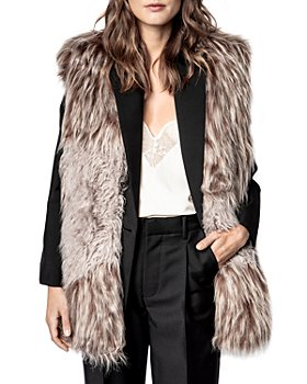 Zadig & Voltaire - Fig Faux Fur Vest
