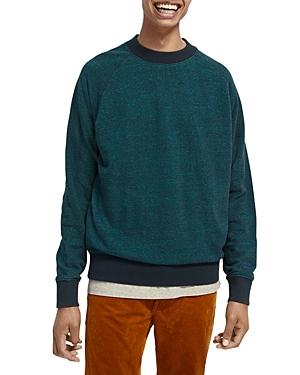 Scotch & Soda Cotton Melange Slim Fit Sweater-Men