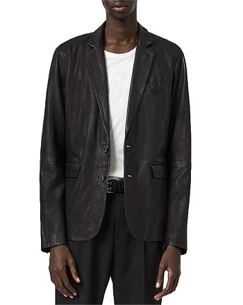 ALLSAINTS - Barton Leather Blazer