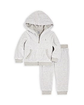 Ralph Lauren - Boys' Striped Hoodie & Jogger Set - Baby