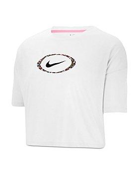Nike - Cropped Logo T Shirt