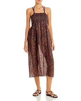 Solid & Striped - The Willow Printed Convertible Cover Up Dress