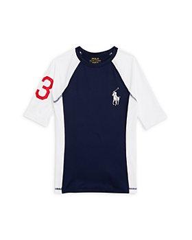Ralph Lauren - Boys' Logo Sun Shirt - Little Kid, Big Kid