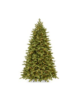 National Tree Company - 7.5 ft. Feel Real® Princeton Fraser Fir Tree 800 Lights and PowerConnect