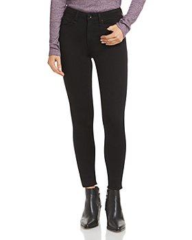 rag & bone - Cate Mid-Rise Skinny Jeans in Black