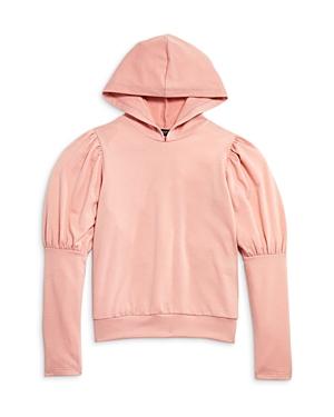 Aqua Girls' Puff Sleeve Hoodie - Big Kid - 100% Exclusive