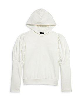 AQUA - Girls' Puff Sleeve Hoodie - Big Kid - 100% Exclusive