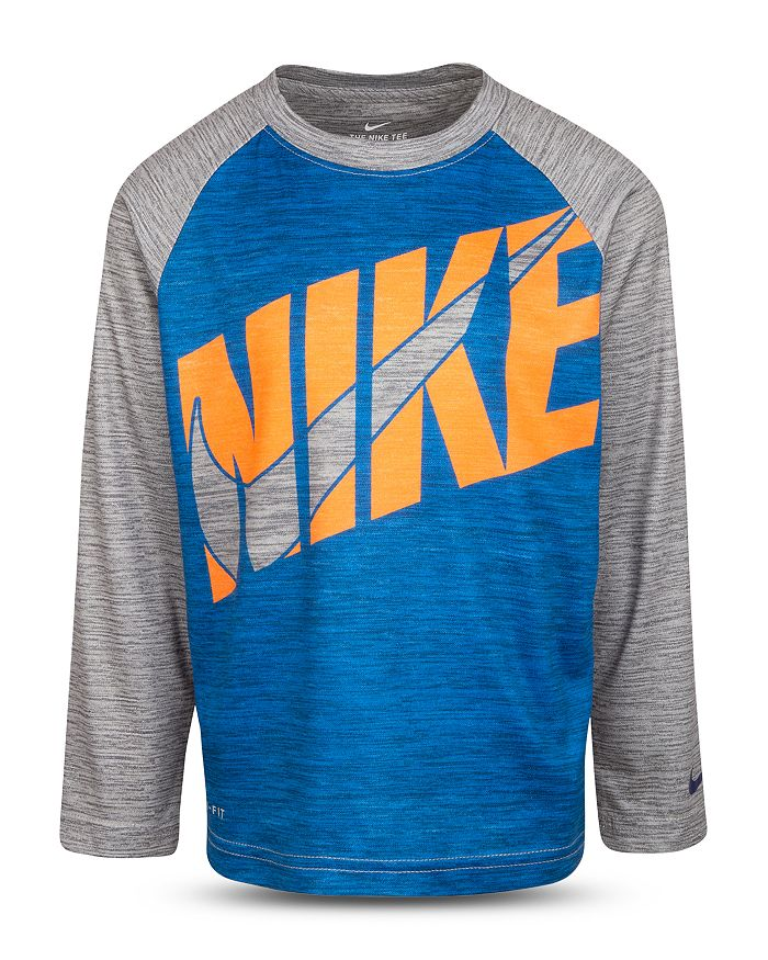 Nike - Boys' Logo Baseball Tee - Little Kid
