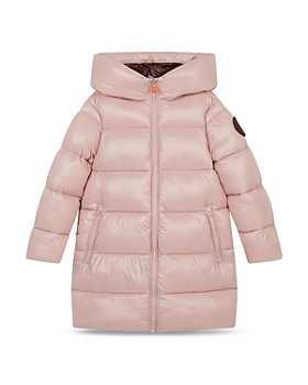 Save The Duck - Girls' Hooded Puffer Coat - Little Kid, Big Kid