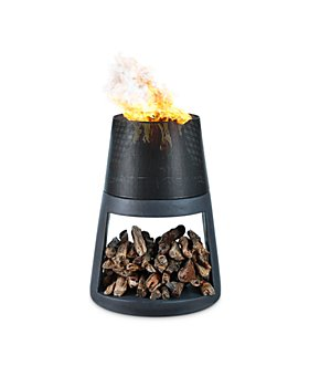 DAYNA B - Outdoor Conic Wood Burning Fire Pit