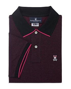 Psycho Bunny - Pekham Pima Cotton Dot Tipped Polo Shirt