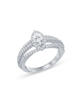 Bloomingdale's - Diamond Marquis Engagement Ring in 14K White Gold, 1.15 ct. t.w. - 100% Exclusive