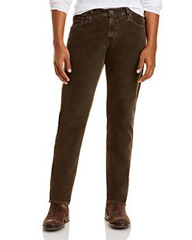 AG - Tellis Modern Slim Fit Jeans in 1 Year Sulfur Molasses