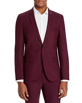 HUGO - Arti Stretch Wool Extra Slim Fit Suit Jacket