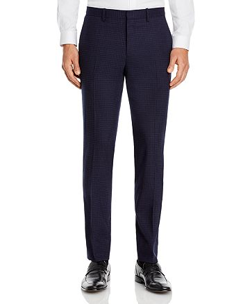 Theory - Mayer Micro Check Slim Fit Suit Pants